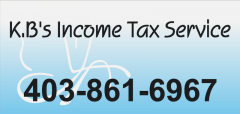 K.B.'s Income Tax Service - Langdon, Alberta