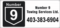 Number 9 Towing Services Ltd. - Langdon, Alberta