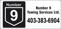 Number 9 Towing Services Ltd. - Langdon, Alberta