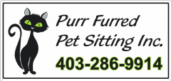 Purr Furred Pet Sitting Inc. - Langdon, Alberta