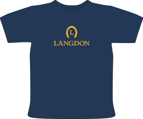 LAngdon T-Shirt with Langdon and Logo