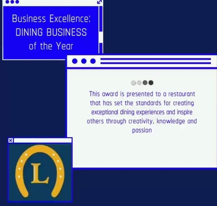LDCC Golden Horseshoe Business Excellence – Dining